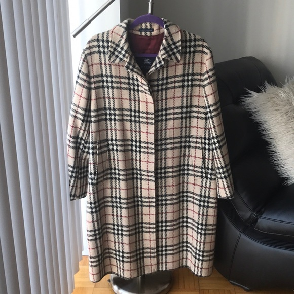 Burberry Jackets & Blazers - Burberry vintage check coat